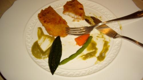 Il Ridotto - Dorade w Zucchini Puree