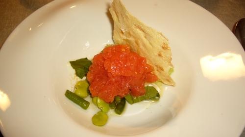 A tomato garden on a plate