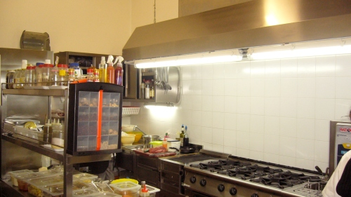In this small but well equipped kitchen, Agostina makes magic happen